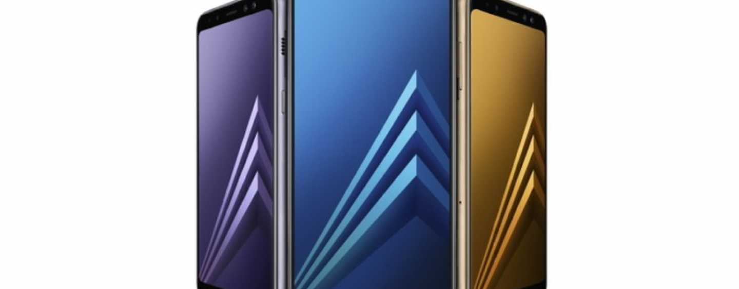 Samsung Unveils Galaxy A8 (2018) And A8+ (2018) With Dual Selfie Cameras