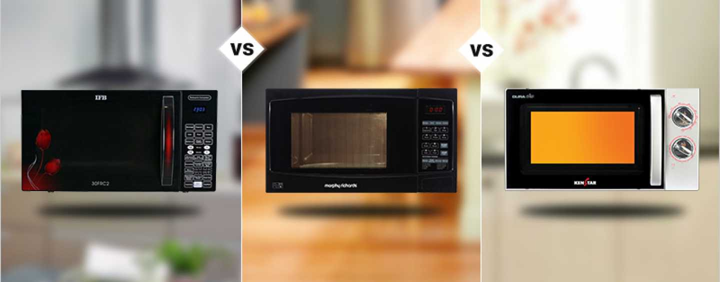 IFB VS Morphy-Richards VS Kenstar: Which microwave is best for you?