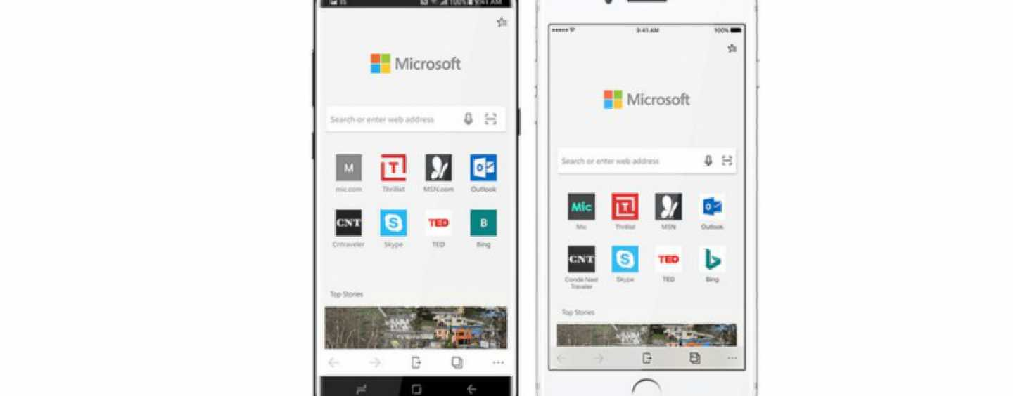Microsoft Launches Edge Browser For Android And iOS Devices