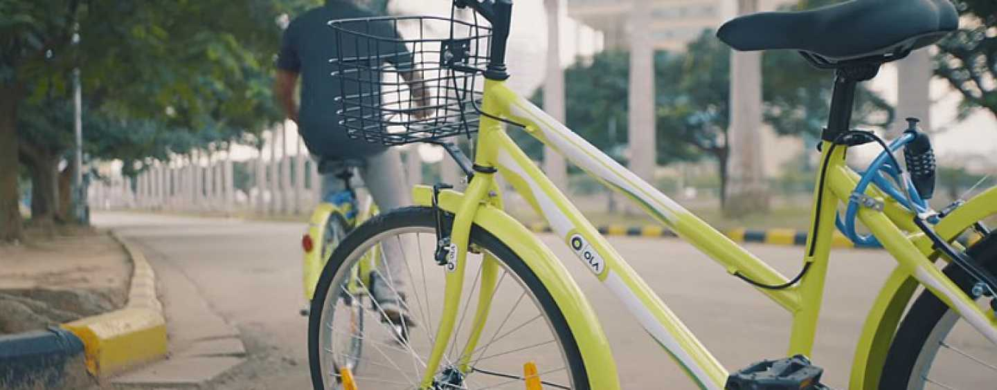 Ola Introduces Its Bicycle-Sharing Programme In India