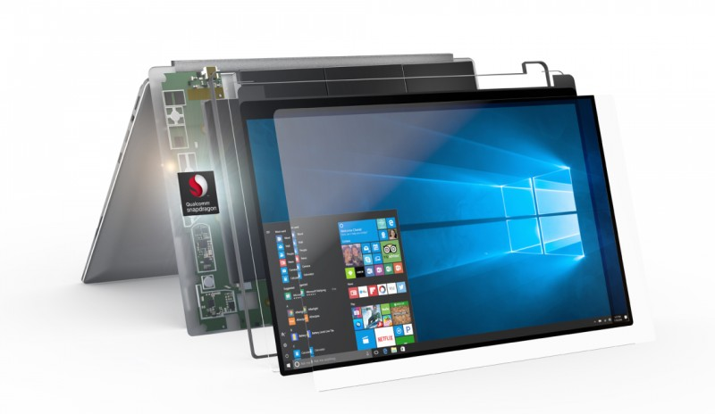 Qualcomm Introduces Snapdragon Chip For Microsoft Windows Laptops
