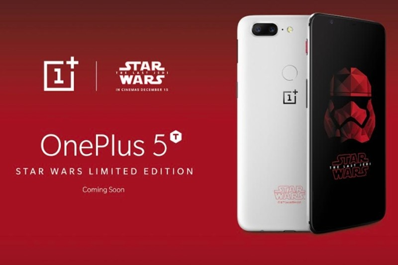 OnePlus Introduces 5T Star Wars Edition In India