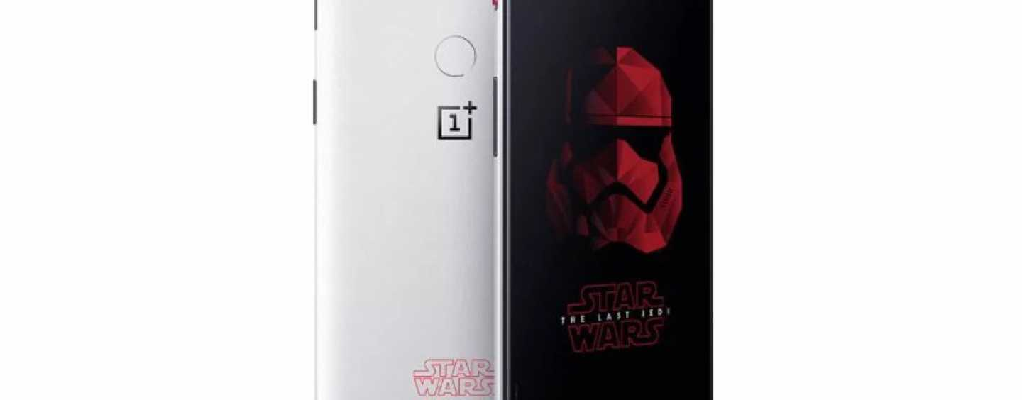 OnePlus 5T Star Wars Edition: The Force Is Strong With This One