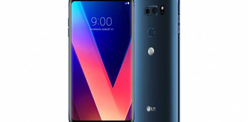 LG Unleashes Powerful V30+ Smartphone In India