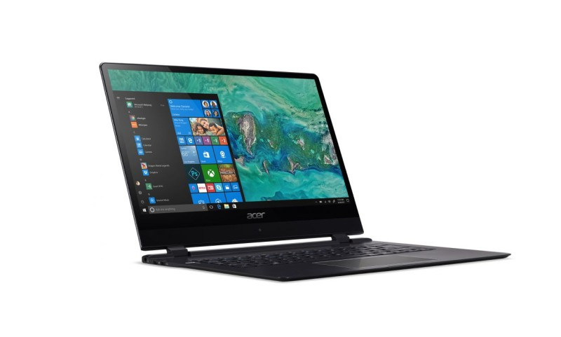Acer Showcases World's Thinnest Laptop Swift 7 With Windows 10