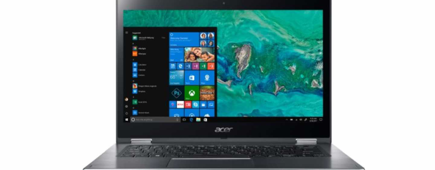 Acer Announces Spin 3 Convertible Laptop