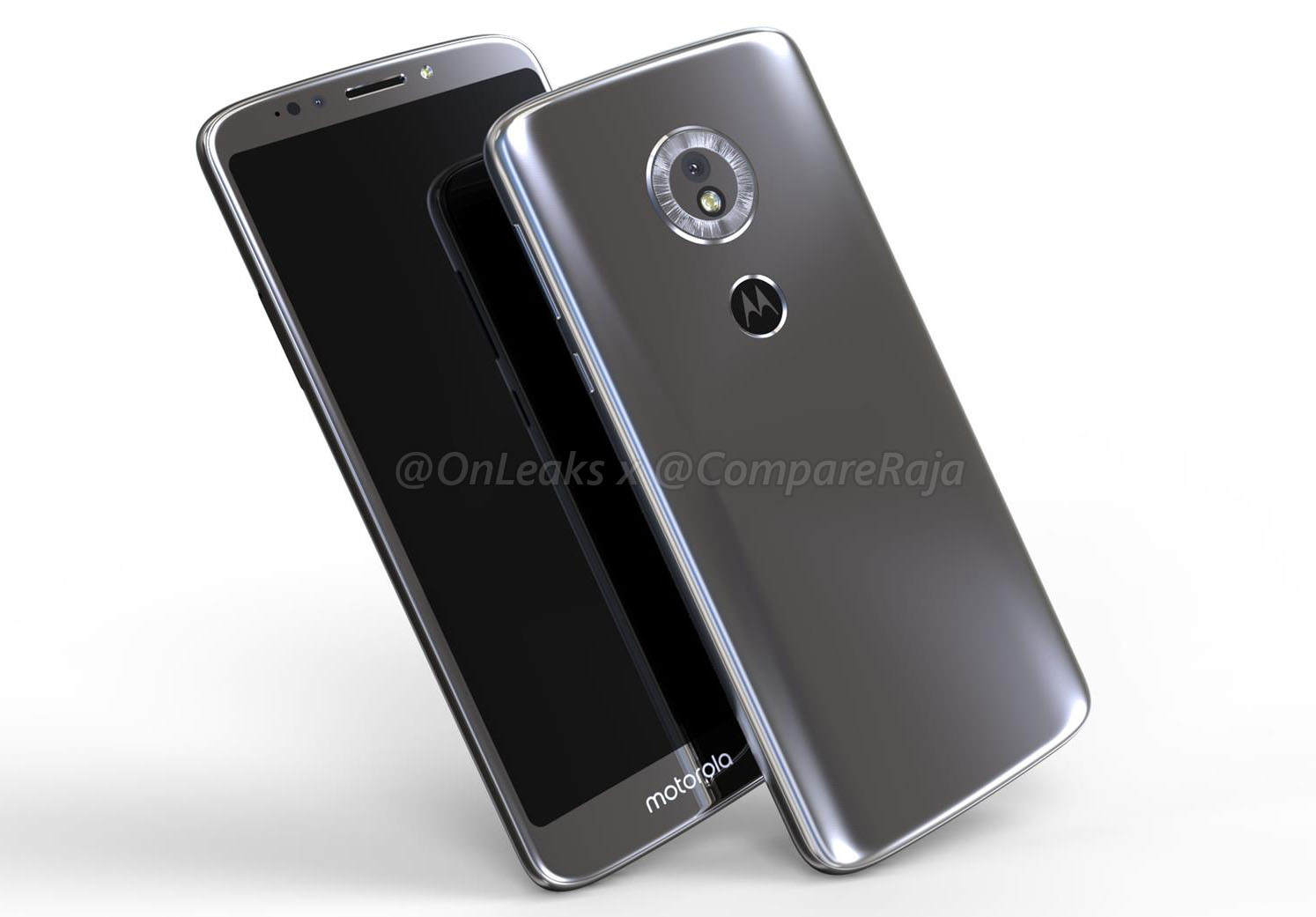 [EXCLUSIVE]: Moto G6 Play Leaked Again in 3D Renders