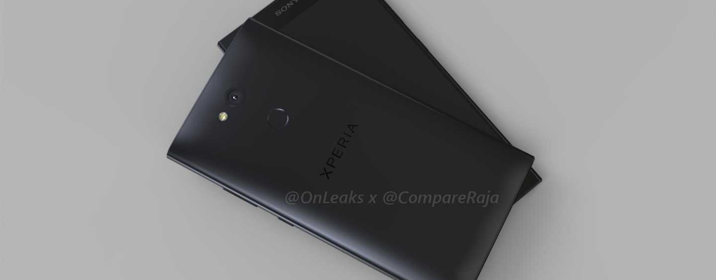 EXCLUSIVE LEAK: Sony Xperia L2 in 3D Renders