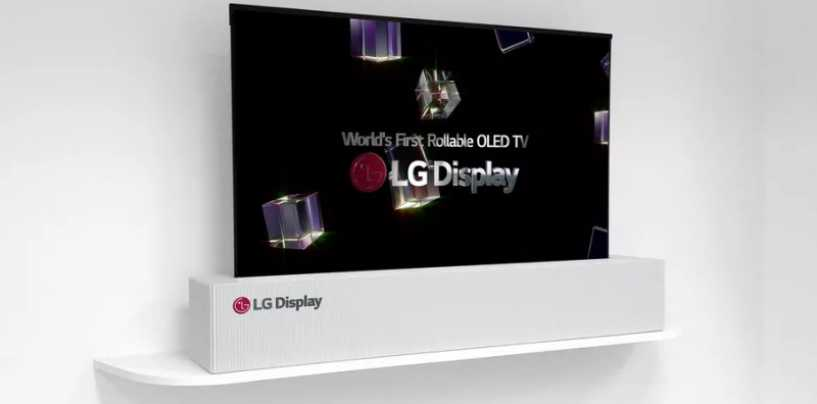 LG To Showcase A Rollable OLED TV At CES 2018
