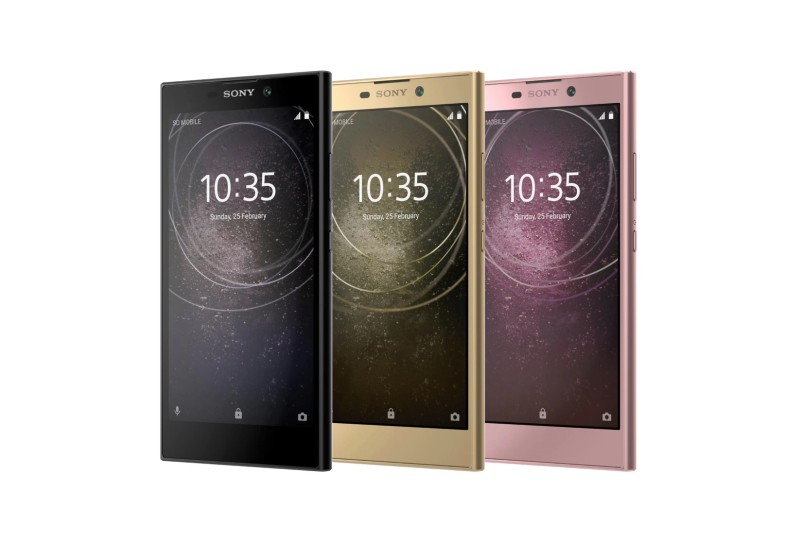 Sony Xperia XA2, XA2 Ultra, L2 officially selfie obsessed