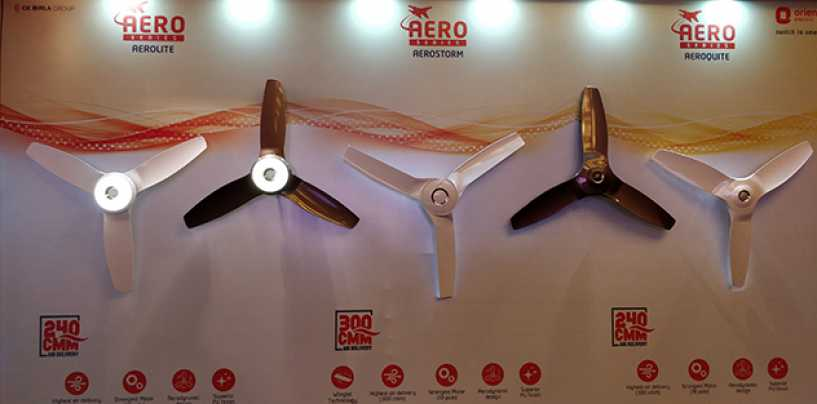 Orient Launches Aerodynamically Designed Aerocool Fan For Rs 5290