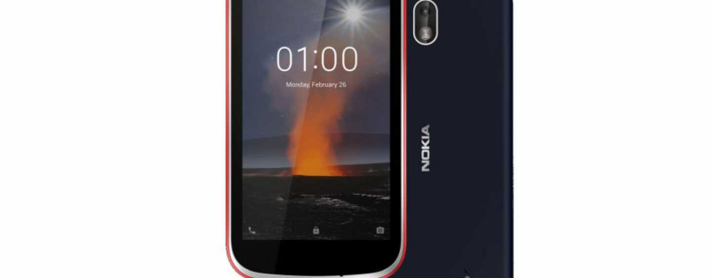 MWC 2018: HMD Announces Its Most Affordable Nokia 1 Smartphone