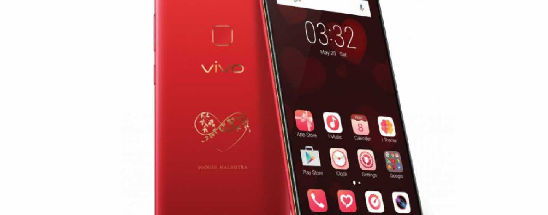 "Vivo V7+ Goes ""Infinite Red"" For The Valentine's Day"
