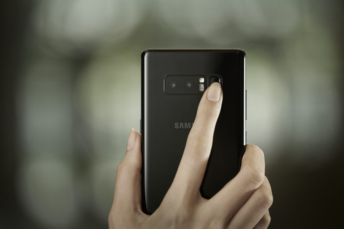 Samsung Galaxy Note 9 May Not Have In-Display Fingerprint Sensors