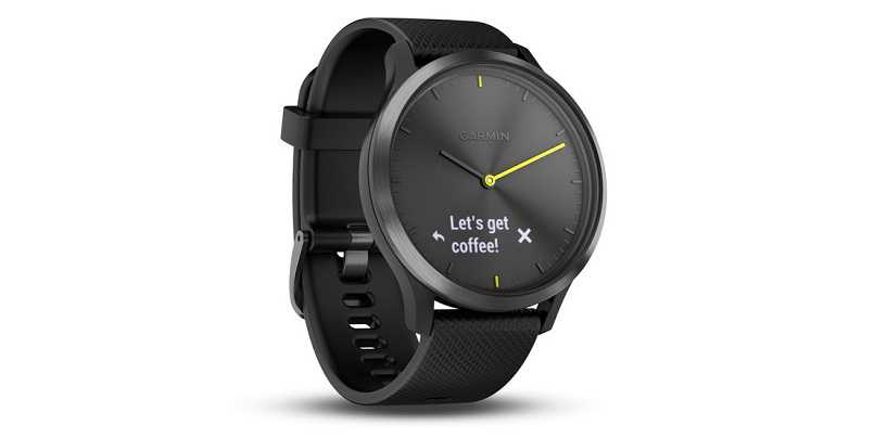 Garmin Launches Hybrid Smartwatch Vivomove HR