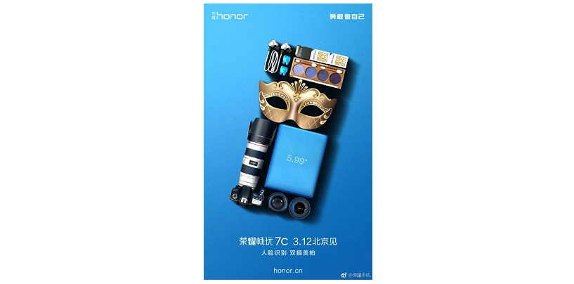 Huawei's Honor 7C To Launch in China on March 12