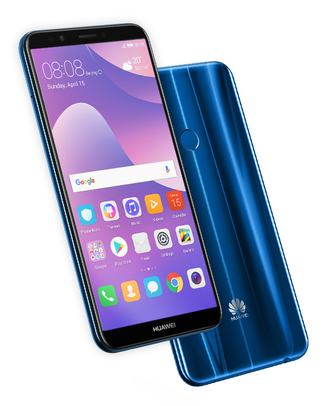 Huawei Y7 Prime 2018 with 18:9 screen, dual rear cameras Announced