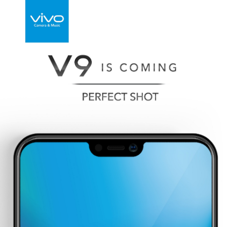 Vivo V9 with iPhone X-like notch, to launch on March 27