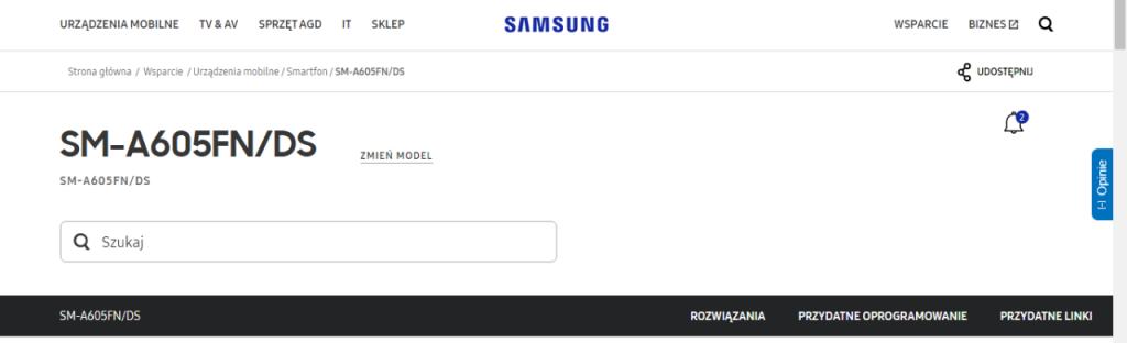 Samsung Galaxy A6+ Official Listing