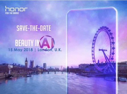 Honor 10 Media Invite
