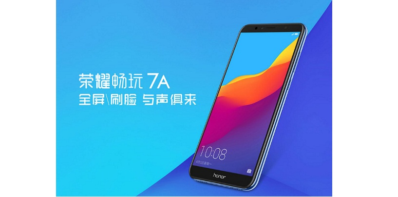Honor 7A Budget Smartphone with Face Unlock and 18:9 Display Launched in China