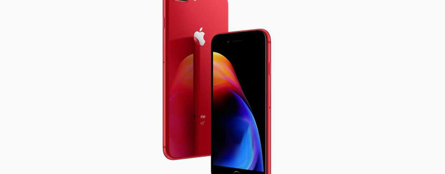 Apple iPhone 8 and iPhone 8 Plus (PRODUCT) RED Edition Now Available for Sale in India