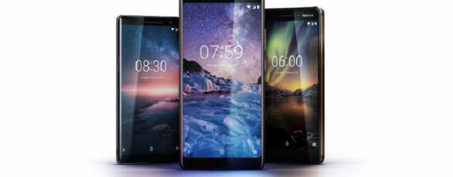 Nokia 6 (2018), Nokia 7 Plus, Nokia 8 Sirocco Launched in India: Pricing, Features and Specifications
