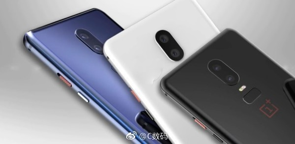 OnePlus 6 Leaked Again: Reveals Black, Blue and White Colour Options