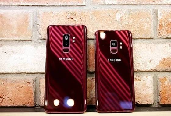 Galaxy S9 and S9 Plus Burgundy Red