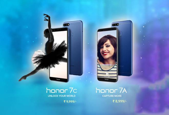 Honor 7A And Honor 7C Launched In India By Huawei