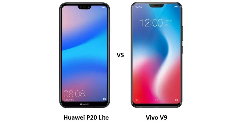 Compare Huawei P20 Lite vs Vivo V9: Price, Performance and Camera