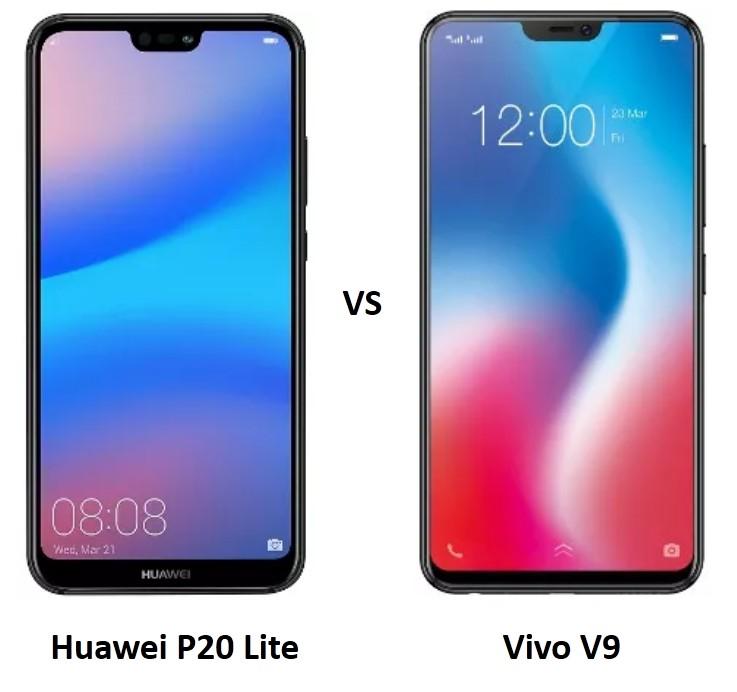 Huawei-P20-Lite-vs-Vivo-V9