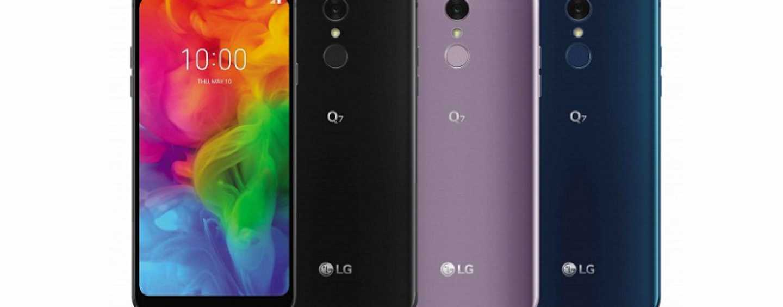 LG Q7, Q7 Plus and Q7 Alpha Mid-range Trio with 5.5-inch Displays Announced