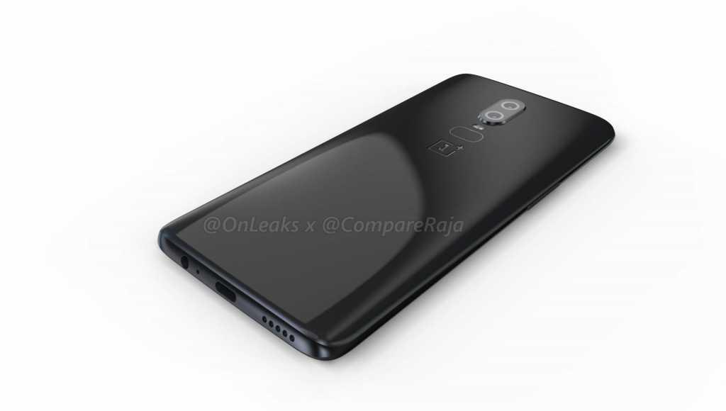 OnePlus 6 Leaked CAD Render