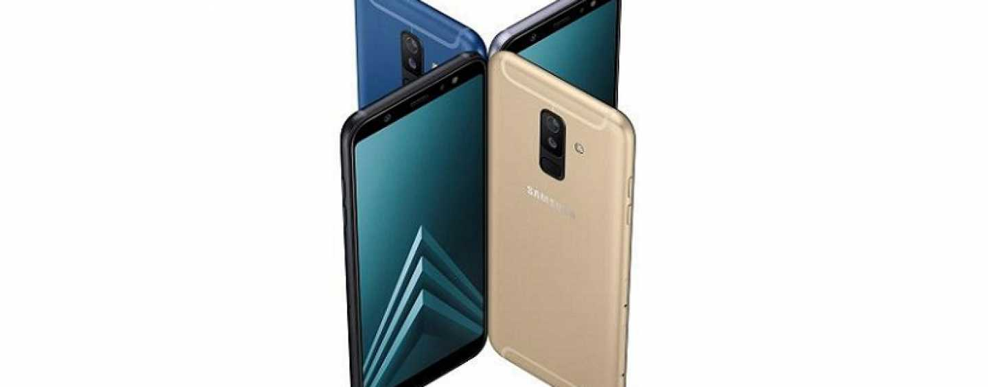 Samsung Galaxy A6 and Galaxy A6+ Get Listed on Company's Official Website