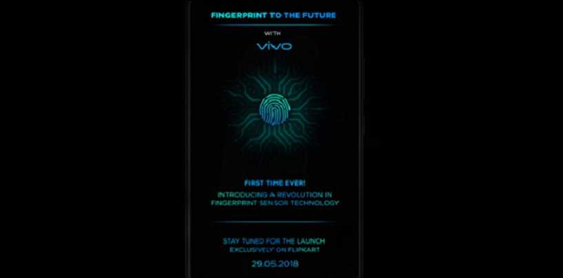 Vivo X21 with In-display Fingerprint Scanner Confirmed to Launch in India on May 29