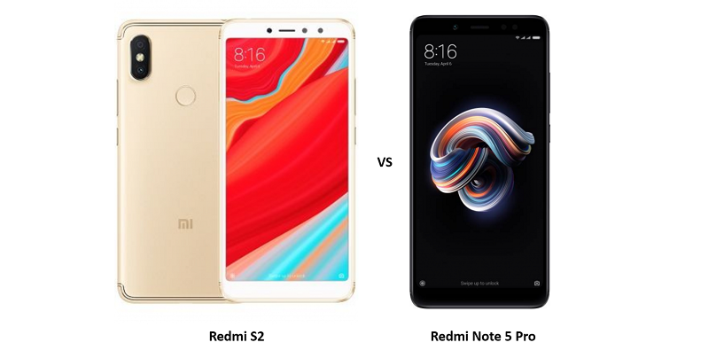 Compare Xiaomi Redmi S2 vs Xiaomi Redmi Note 5 Pro: Price, Specifications and Performance