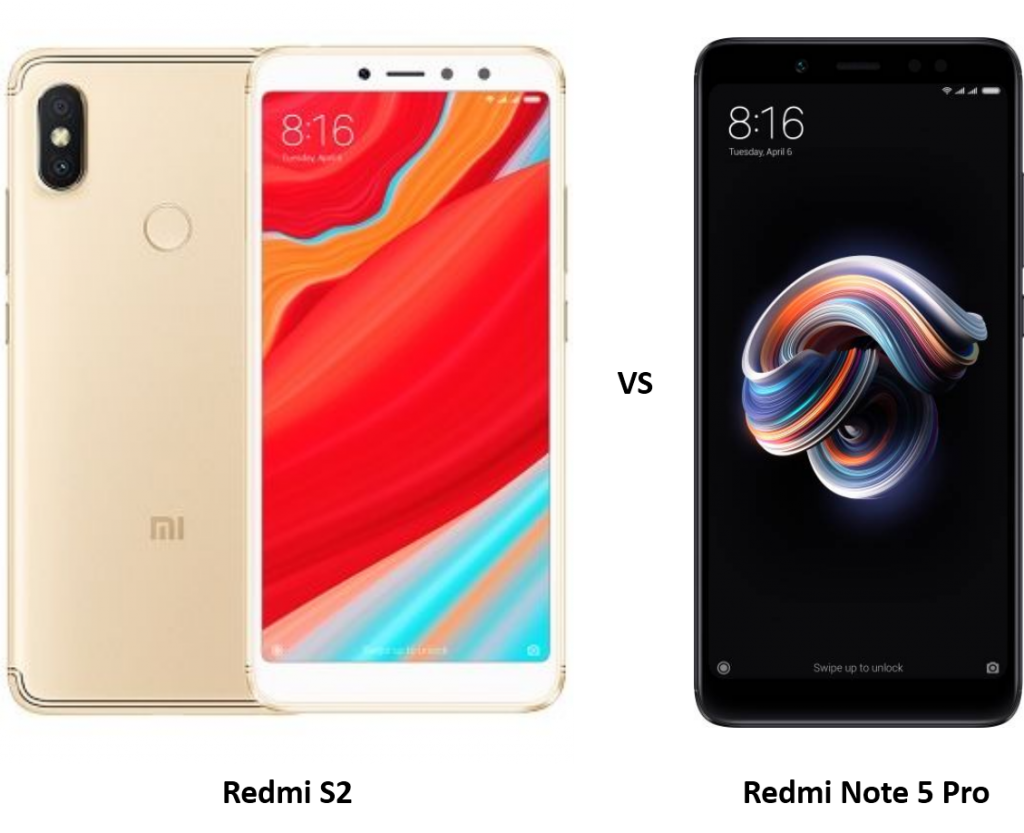Compare Xiaomi Redmi S2 vs Xiaomi Redmi Note 5 Pro: Price ...