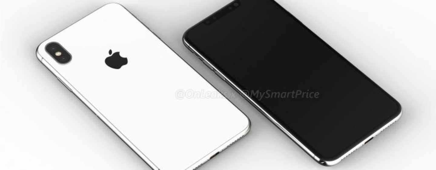 The First Leaked Renders of 6.1-inch and 6.5-inch Apple iPhones 2018 Are Out