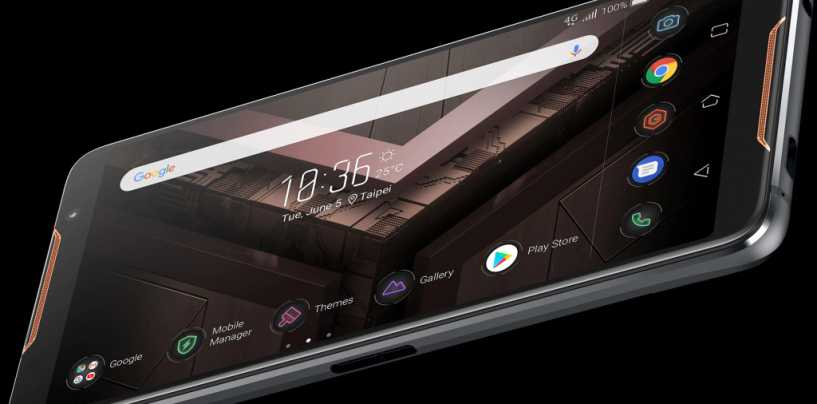 Asus ROG Gaming Smartphone Reported to Hit Indian Market by September 2018