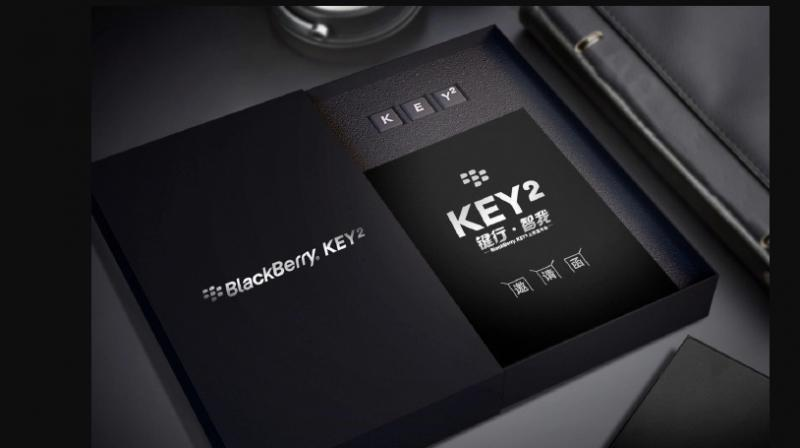 BlackBerry KEY2 To Be Unveiled On June 7