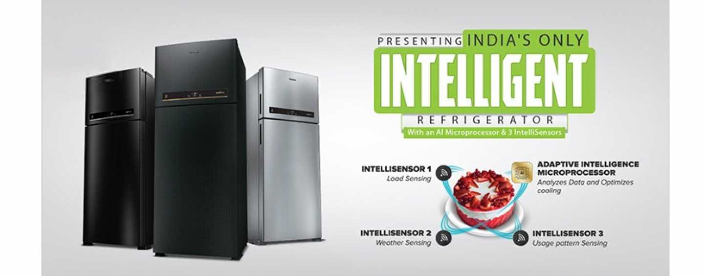 Whirlpool Intellifresh Refrigerator, India's Only Intelligent Refrigerator