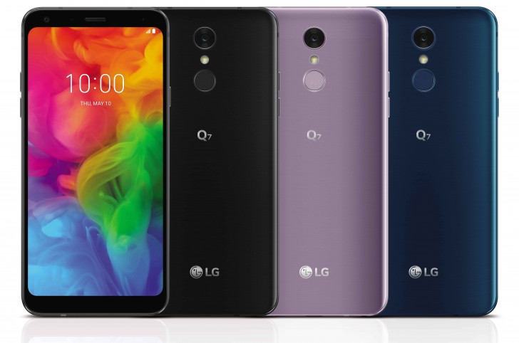 LG Q7 and Q7 Plus South Korea