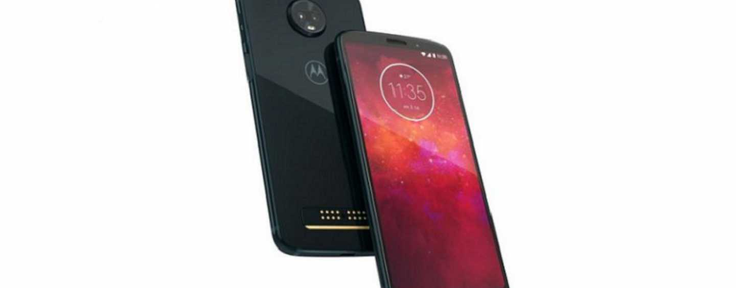 Motorola Moto Z3 Play Debuts with Snapdragon 636 And Android 8.1