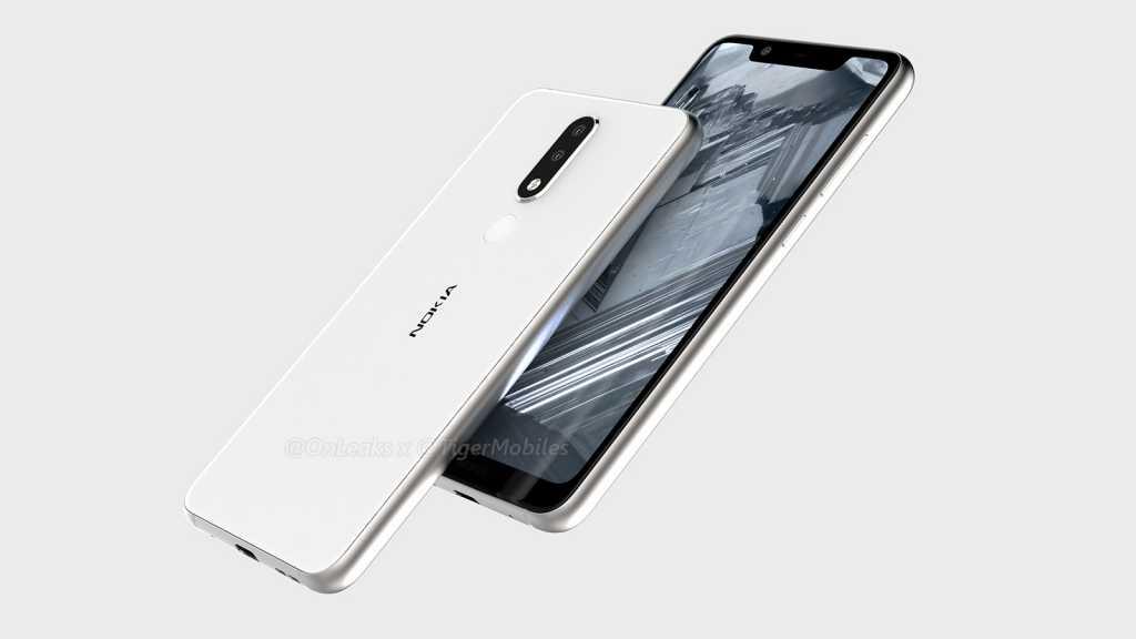 Nokia 5.1 Plus Leaked Renders