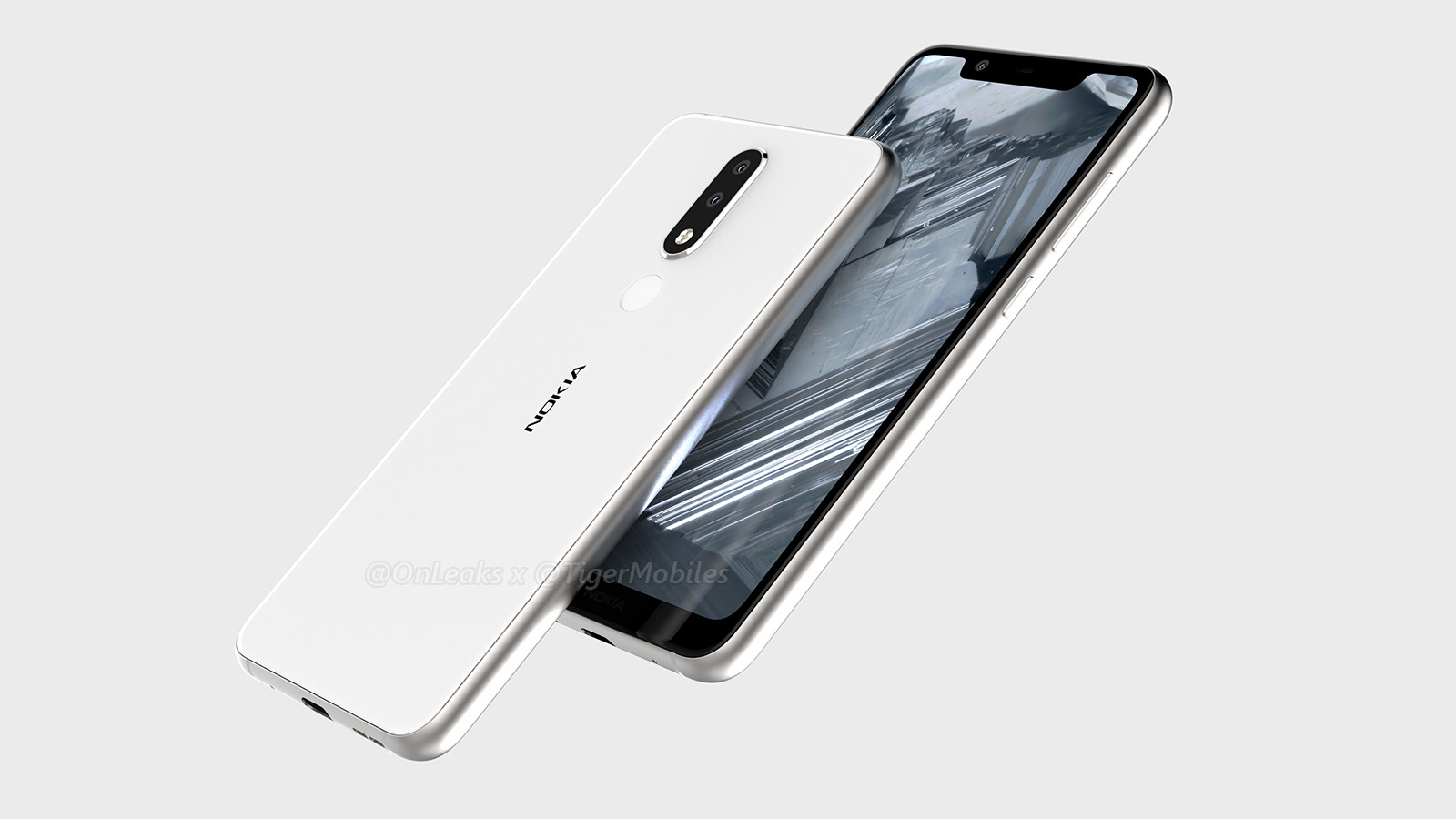 Nokia 5.1 Plus Leaked in 3D CAD Renders and 360-Degree Video