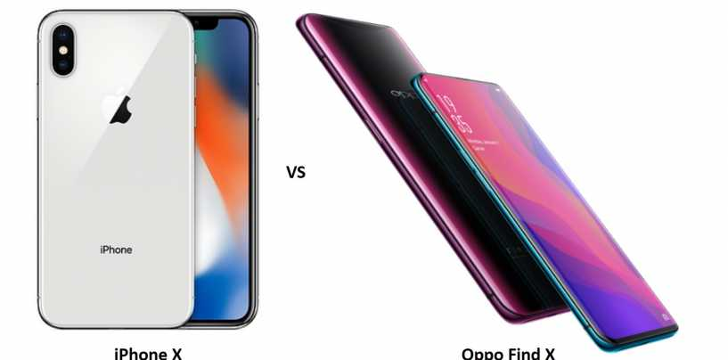 Oppo Find X vs iPhone X: Who Will Win the Battle Between Android and iOS?