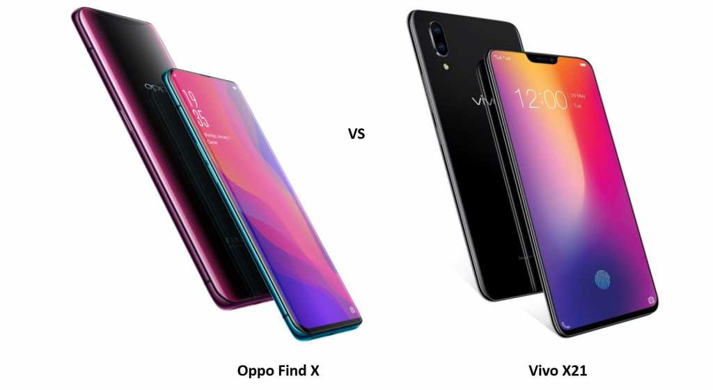 Oppo-find-X-vs-vivo-x21