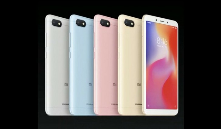 Redmi 6 and 6A