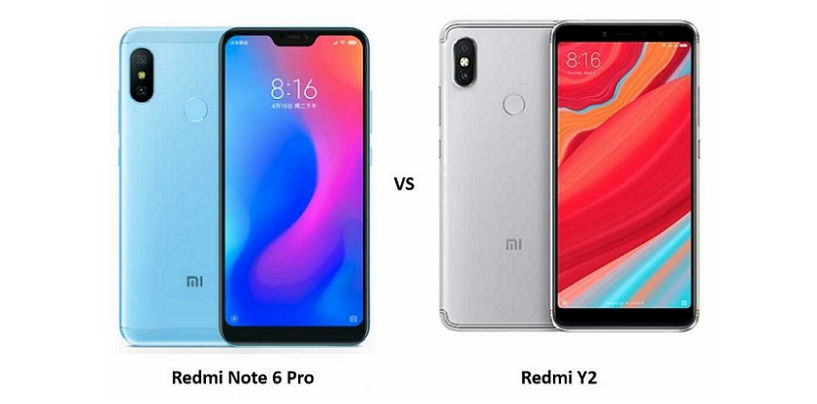 Redmi Note 6 Pro vs Redmi Y2: Price, Features and Specifications Compared